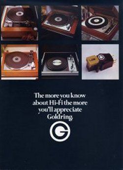 The more you know about HiFi the more you'll appreciate Goldring