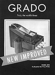 An early Grado product brochure