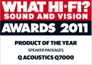 What Hi-Fi? Sound And Vision, October 2011