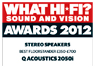 What Hi-Fi? Sound and Vision, Awards 2012
