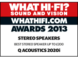 What Hi-Fi? Sound and Vision, Awards 2013