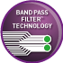 Band Pass Filter™ Technology